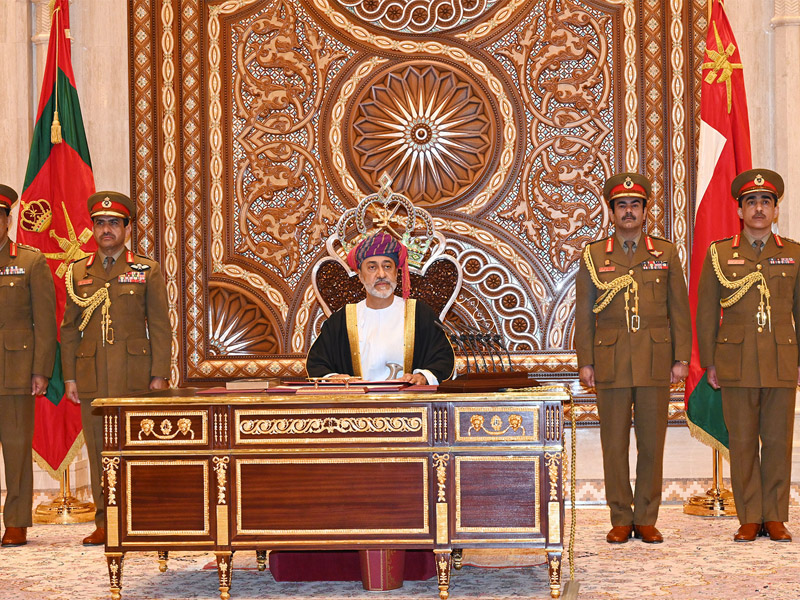 Photo Credit :  https://muscatdaily.com/Oman/385834/His-Majesty-Sultan-Haitham-sworn-in
